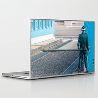 korea Laptop & iPad Skins featuring Guarding the MDL_South Korea by Jennifer Stinson