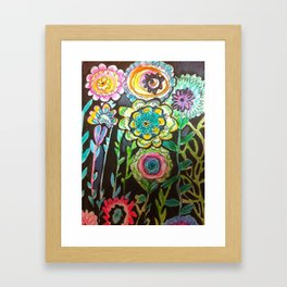 Growing Thoughts Framed Art Print