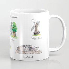 Historical Kent, England Coffee Mug