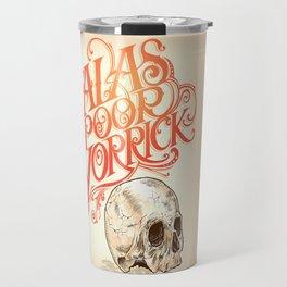 Hamlet Skull Travel Mug