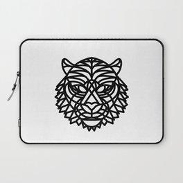 Tiger Head (Geometric) Laptop Sleeve