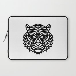 Tiger Head (Geometric) Laptop Sleeve