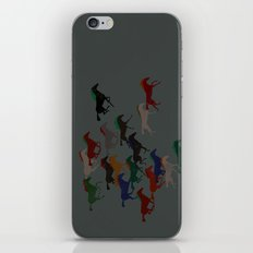 Horse Stampede iPhone & iPod Skin