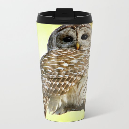 She sees right into the heart of me Metal Travel Mug