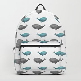 Just a friendly whale Backpack