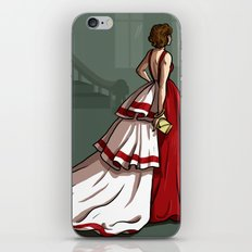 Red Gown iPhone & iPod Skin