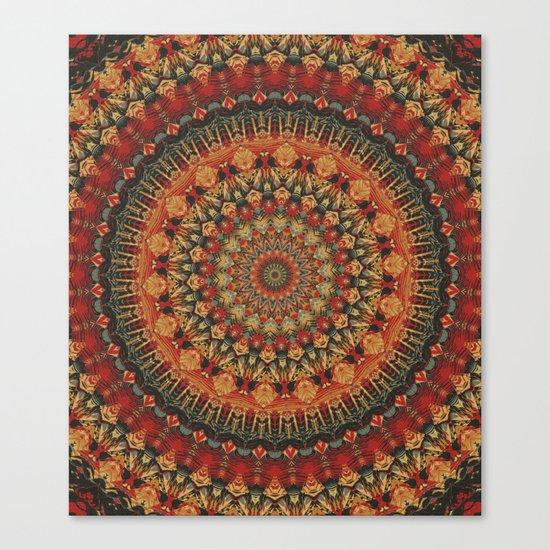 Mandala 563 Canvas Print