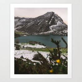 Spanish lake, 2017 Art Print