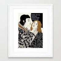 gorillaz Framed Art Prints featuring Aluminium by Kaethe Butcher