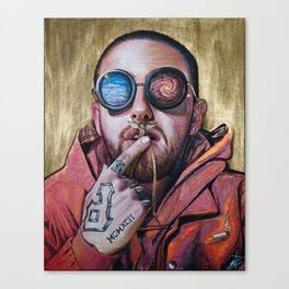 Mac RIP Fly High Canvas Print