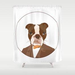 Mr. Brodes Shower Curtain