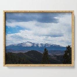 Colorado Springs Mountains Serving Tray