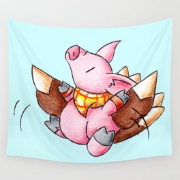 After Dinner Takeoff Wall Tapestry