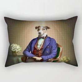 Doctor Declan Dogue in his Parlor Rectangular Pillow