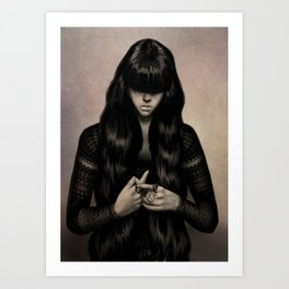 BLING Art Print