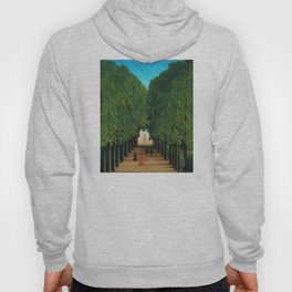 Henri Rousseau - Avenue in the Park at Saint Cloud Hoody