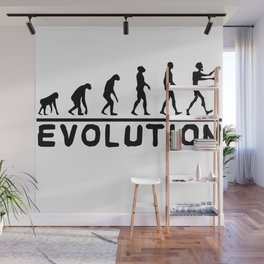 Zombie evolution Wall Mural
