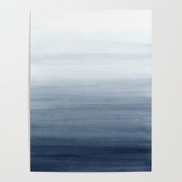 Ocean Watercolor Painting No.2 Poster