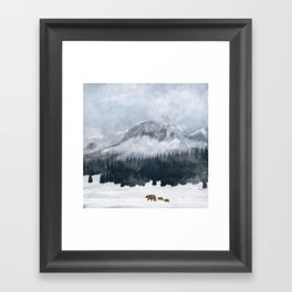 nature will find a way Framed Art Print