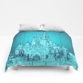 CINDERELLA CASTLE Comforters