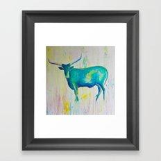 Texas Blues Framed Art Print