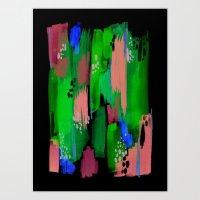 Seaside Abstract Art Print