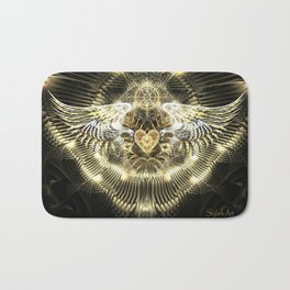 Gold Wings Bath Mat