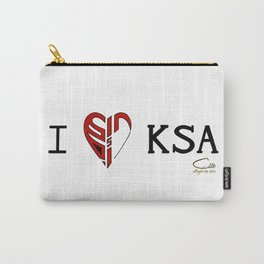 I 'heart' KSA Carry-All Pouch
