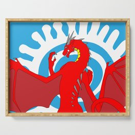 Annoth the Warrior Dragon Serving Tray