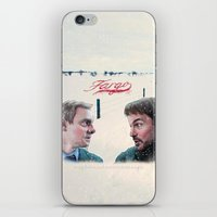 fargo iPhone & iPod Skins featuring Fargo tv serie by Magdalena Almero