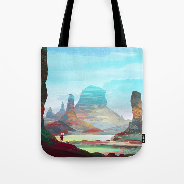 On another planet 2 Tote Bag