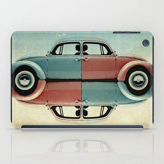 checkered bug - VW beetle iPad Case