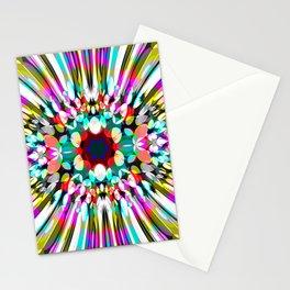 Hallucination flower Stationery Cards