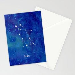 Constellation Gemini Stationery Cards