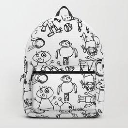 El equipo Backpack
