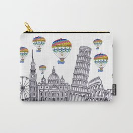 Travel with Air Balloons Carry-All Pouch