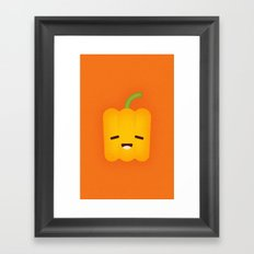 Bell Pepper Framed Art Print