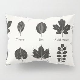 European Tree Leaves Pillow Sham