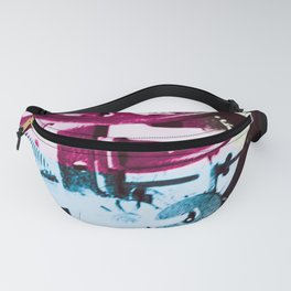 Dark Cogs Industrial Fanny Pack