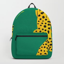 The Stare: Golden Cheetah Edition Backpack