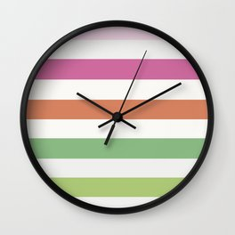 Stripes: LaNotte Wall Clock