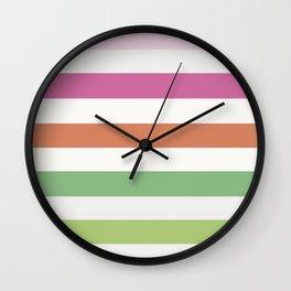 Stripes: LaNotte Wall Clock