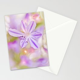 Summer dance - macro  floral photography Stationery Cards