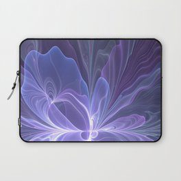 Abstract Art, Purple Fantasy Fractal Laptop Sleeve