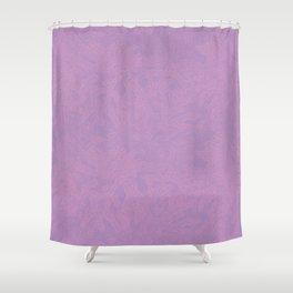 Pink leaf pattern Shower Curtain