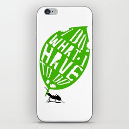 Ant Worker iPhone Skin