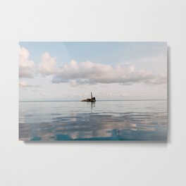 "Saying ""Peace"" to All My Problems Metal Print"
