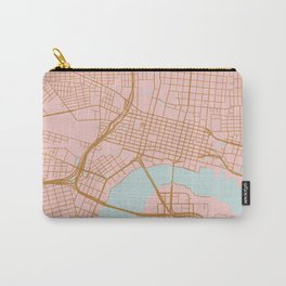 Jacksonville map, Florida Carry-All Pouch