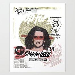 Shop For Both Art Print