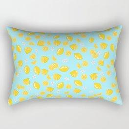 Lemons citrons Rectangular Pillow
